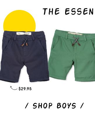 Shop Boys Shorts