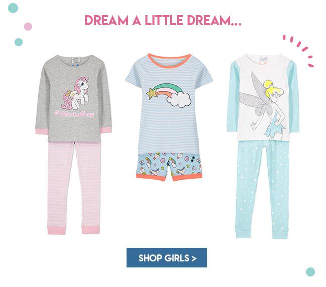 Shop Girls Sleepwear