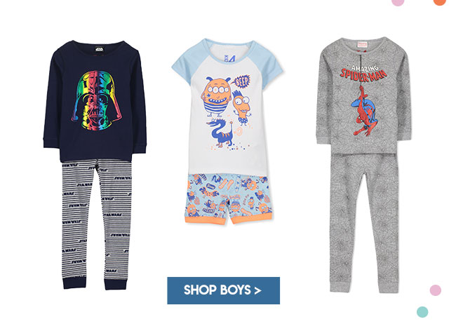 Shop Boys Sleepwear
