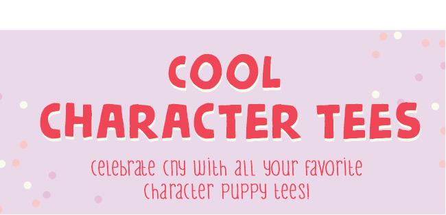 Shop Character Tees