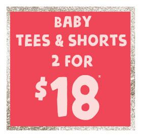 Shop Baby Tees & Shorts