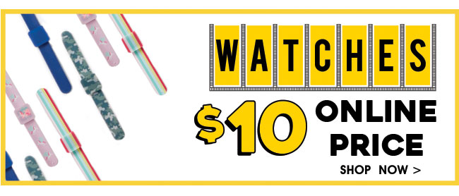 Shop $10 Watches