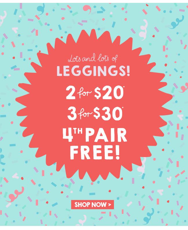 Shop Leggings 4th Pair Free