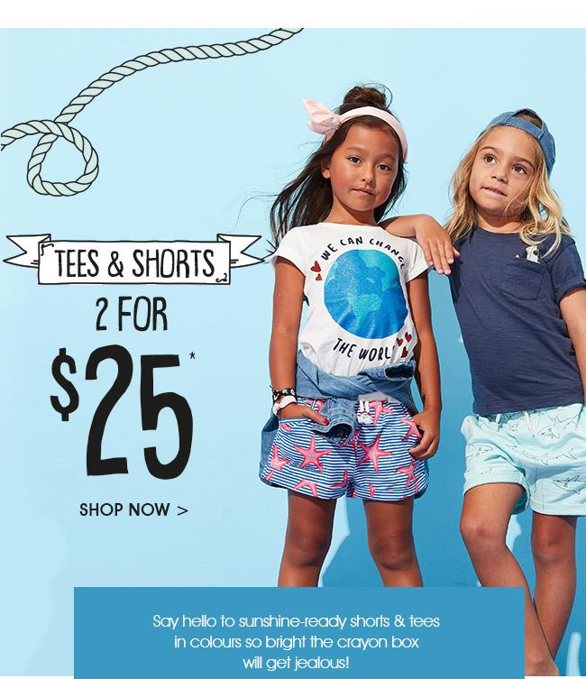 Shop Tees & Shorts