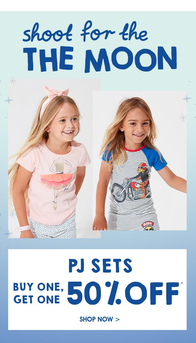 Shop PJ Sets. Buy One, Get One 50% Off