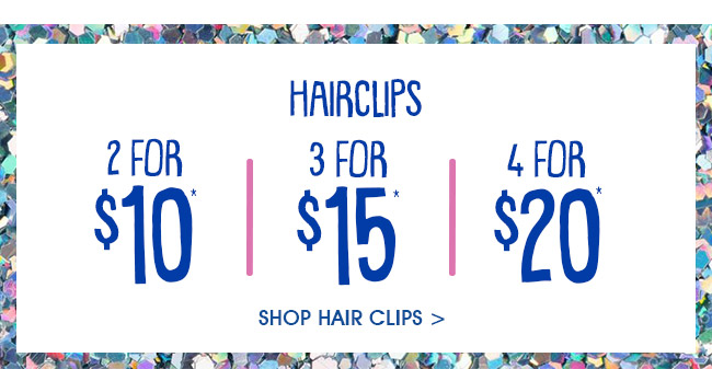 Shop Girls Hairclips