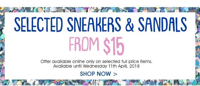 Shop Sneakers & Sandals