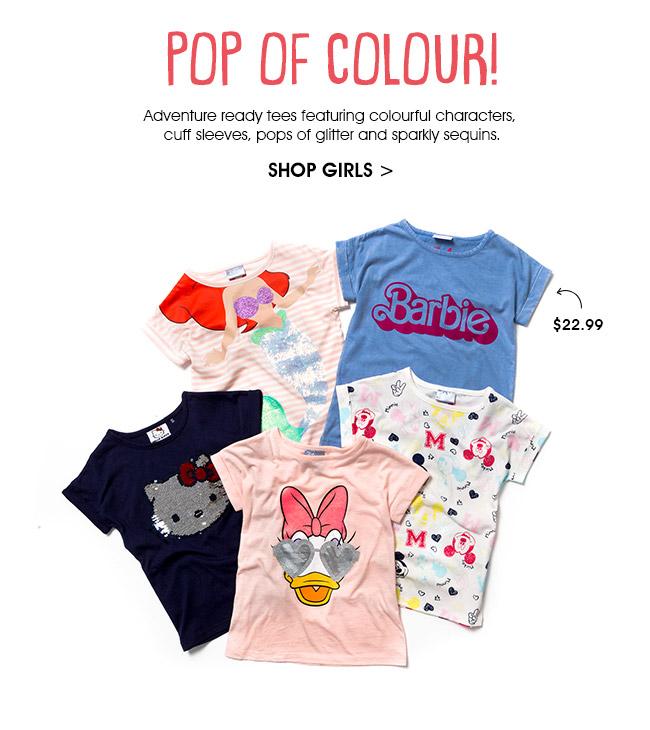 Shop Girls License Tees