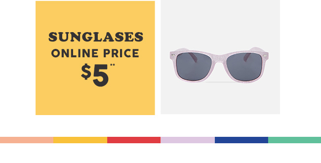 Shop $5 Sunglasses