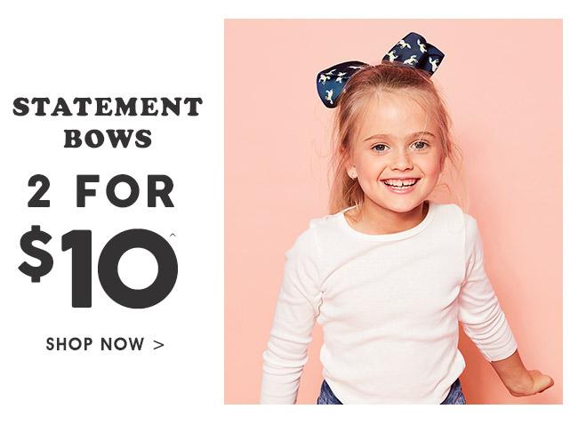 Shop Bows