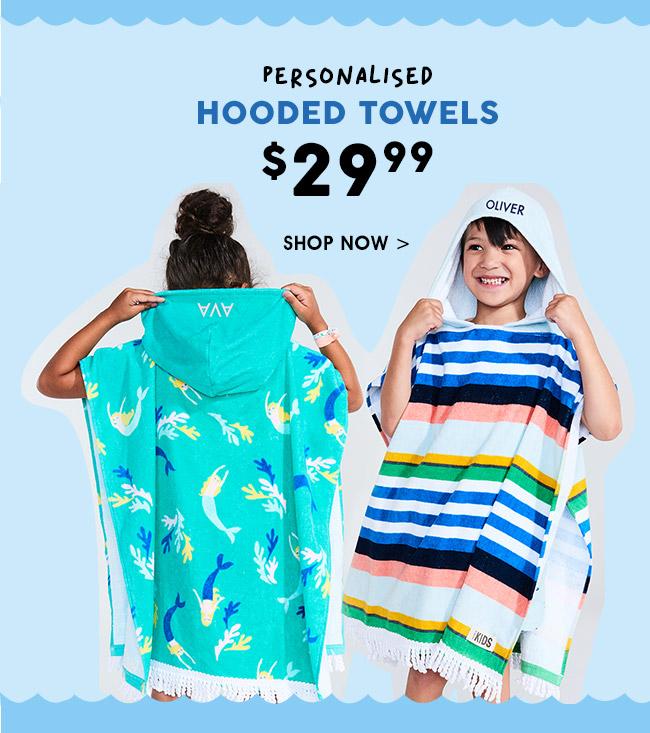 Shop Personalised Towels
