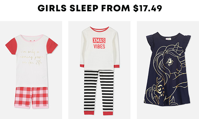 Shop Girls Sleep