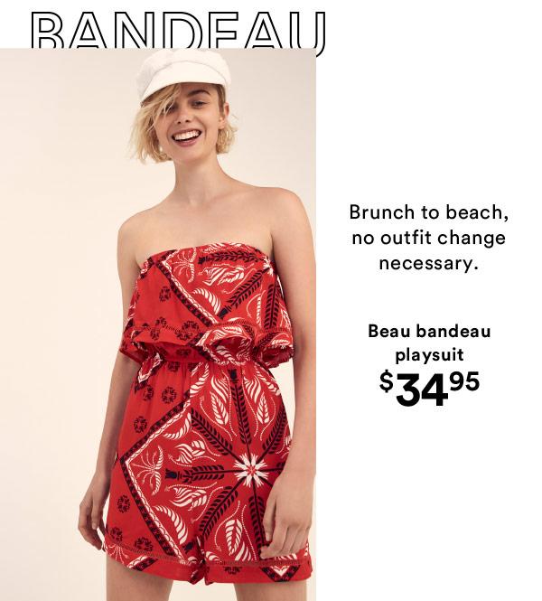 Beau bandeau romper | Shop Now