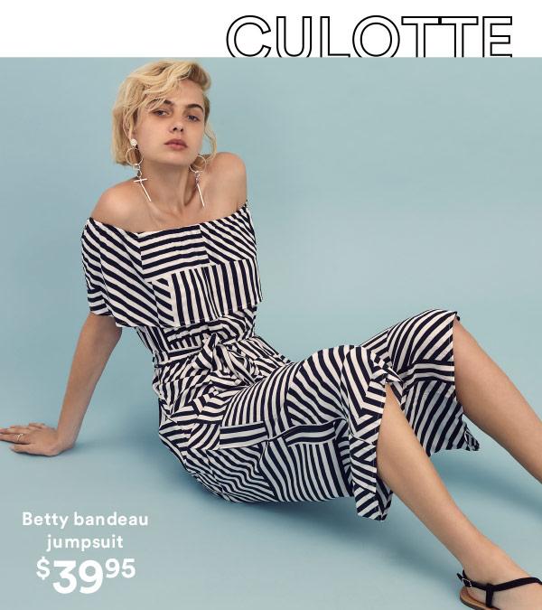 Betty bandeau jumpsuit | Shop Now