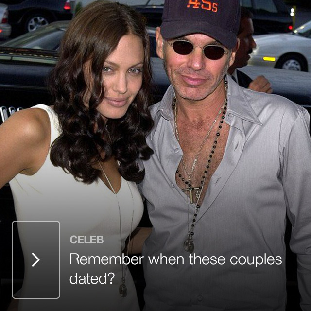 Remember when these couples dated?