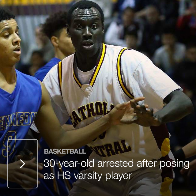 30-year-old arrested after posing as HS varsity player