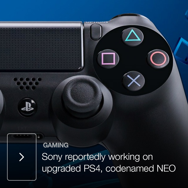 Sony reportedly working on upgraded PS4, codenamed NEO