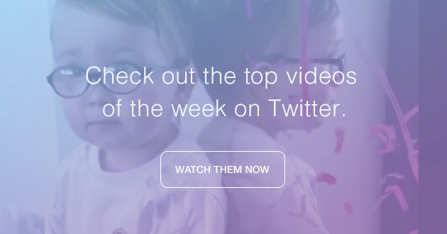 Check out the top videos of the week on Twitter.