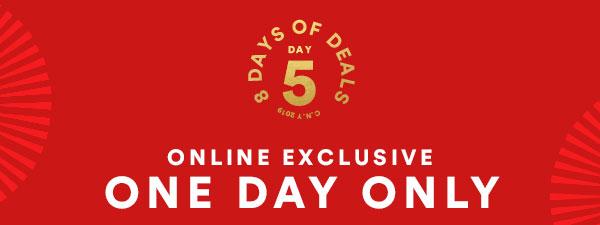 8 Days of Deals | SHOP NOW