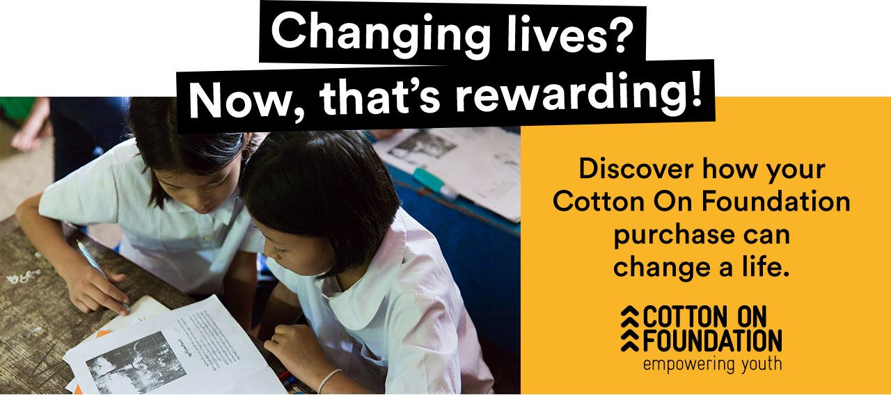 Changing lives? Now, that's rewarding?