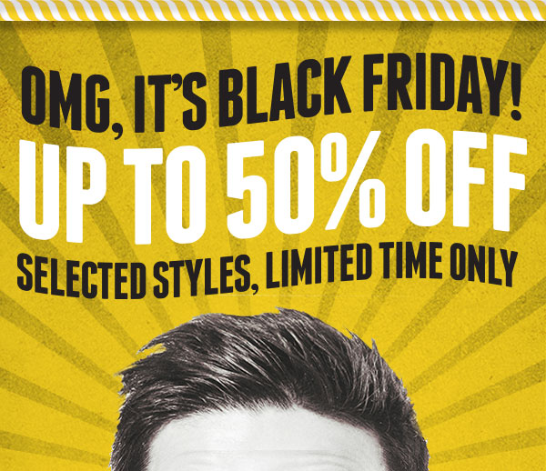 Black Friday! 50% off!
