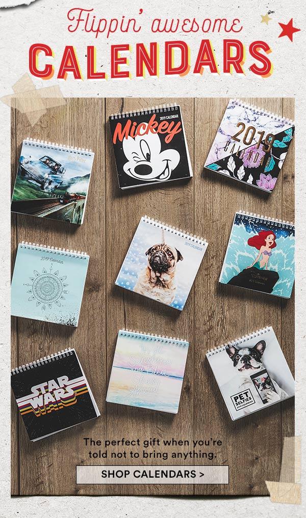 Shop Calendars!