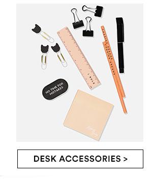 Shop Desk Accessories