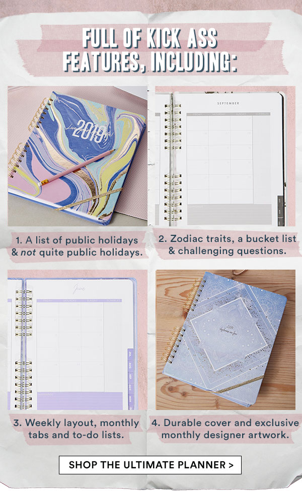 Shop The Ultimate Planner!