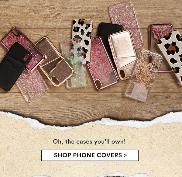 We got you covered shop phone covers