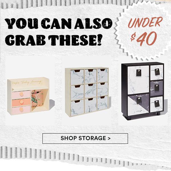 Shop Storage!