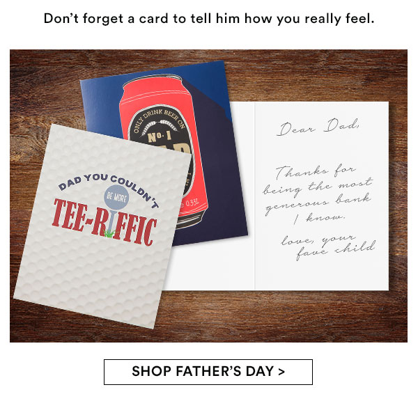 Shop Father's Day!