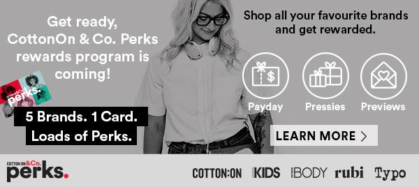 Perks rewards program is coming!