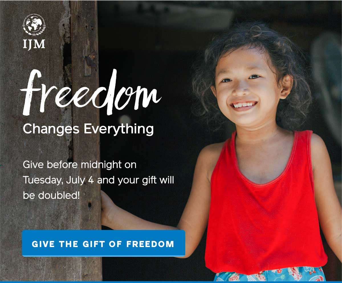 Give before midnight on July 4 to double your impact
