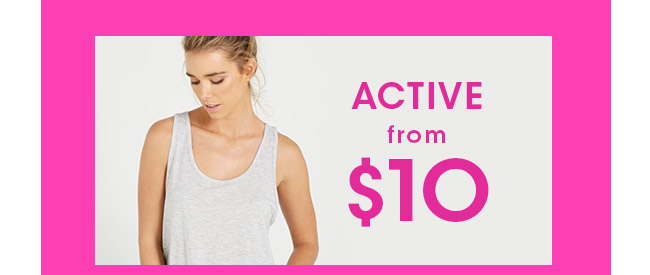 Cotton On Body   Shop Active!