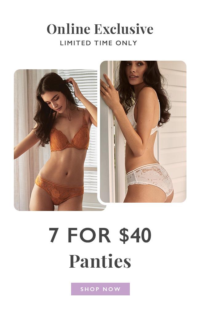 Cotton On Body   Shop Panties