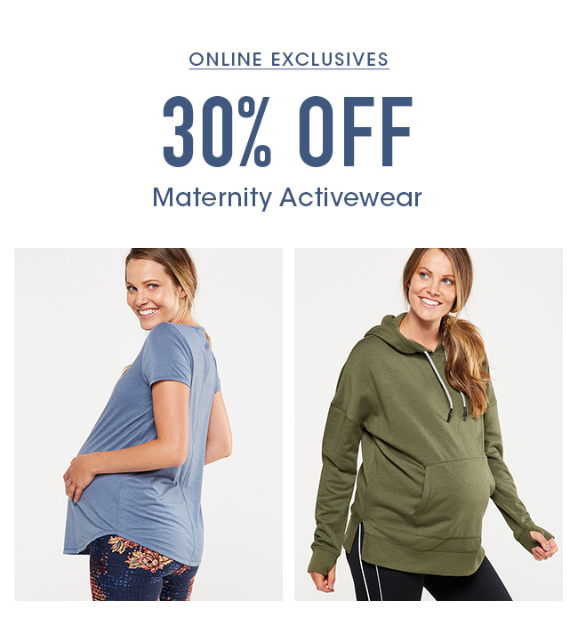 Shop 30% Off Active Maternity