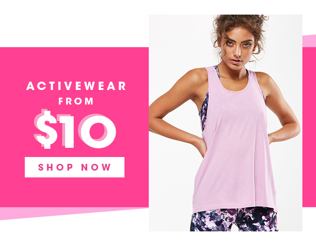 Activewear From RM30 | Shop Now
