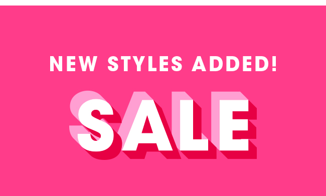New Styles Added | Shop Sale Now