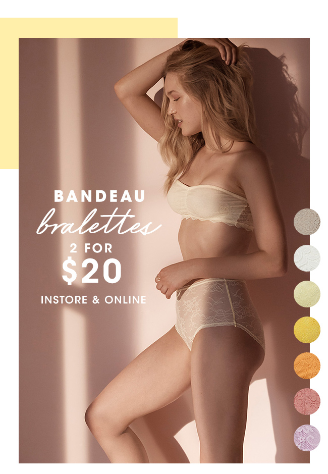 Bralettes | Shop Lingerie Now