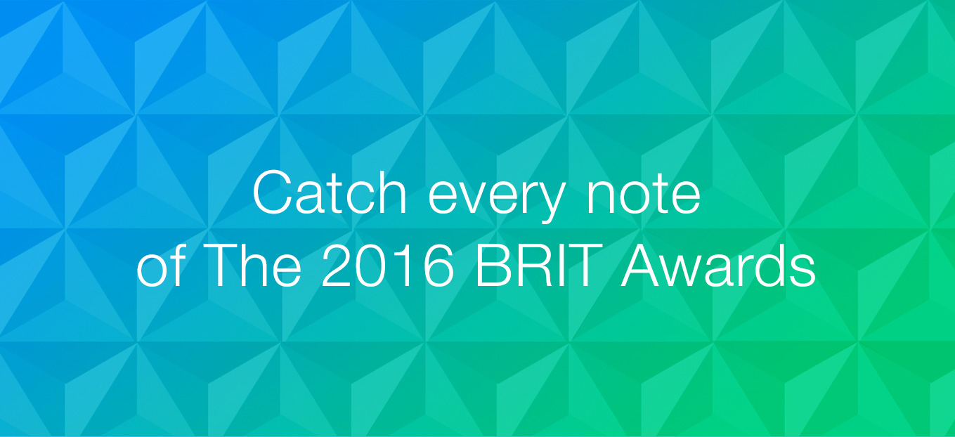 2016 BRIT Awards