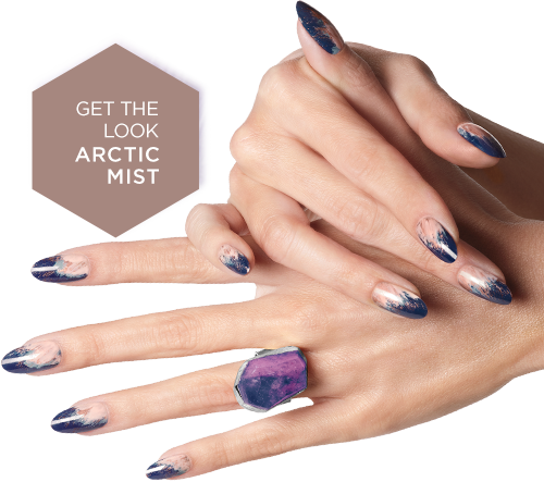 GET THE LOOK ARCTIC MIST