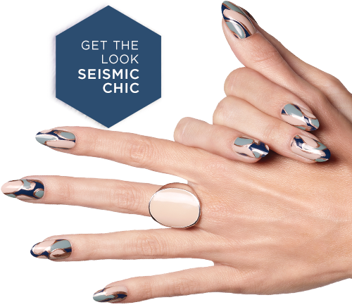 GET THE LOOK SEISMIC CHIC