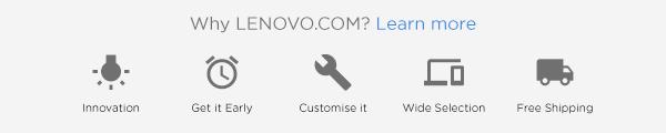 why Lenovo banner