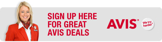SIGN UP HERE FOR GREAT AVIS DEALS - AVIS - we try harder