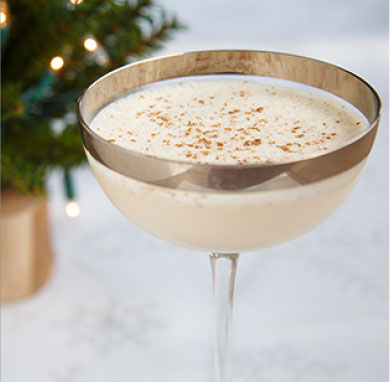 Eggnog Martini